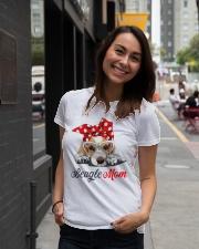 Beagle mom Ladies T-Shirt lifestyle-women-crewneck-front-5