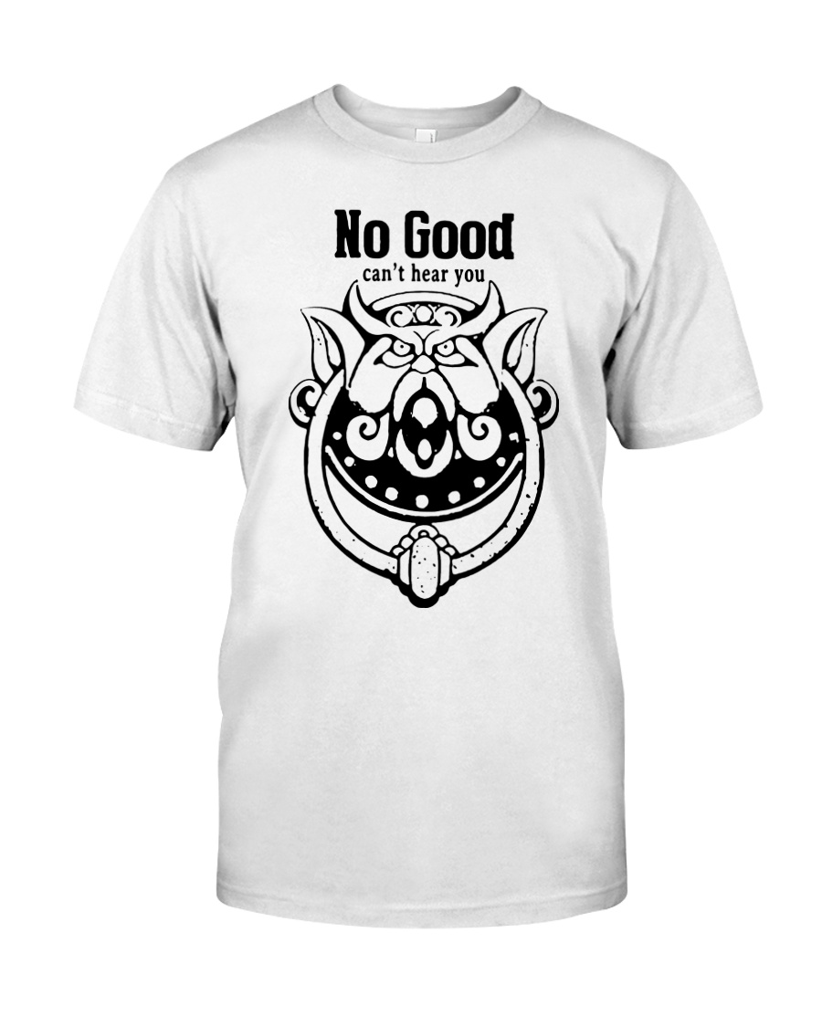 Labyrinth door knockers no good can't hear you Classic T-Shirt