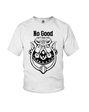 Labyrinth door knockers no good can't hear you Youth T-Shirt thumbnail