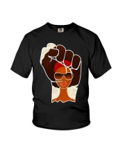 Black Afrocentric power Youth T-Shirt thumbnail