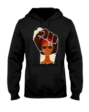 Black Afrocentric power Hooded Sweatshirt thumbnail