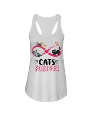 Love cat forever Ladies Flowy Tank thumbnail