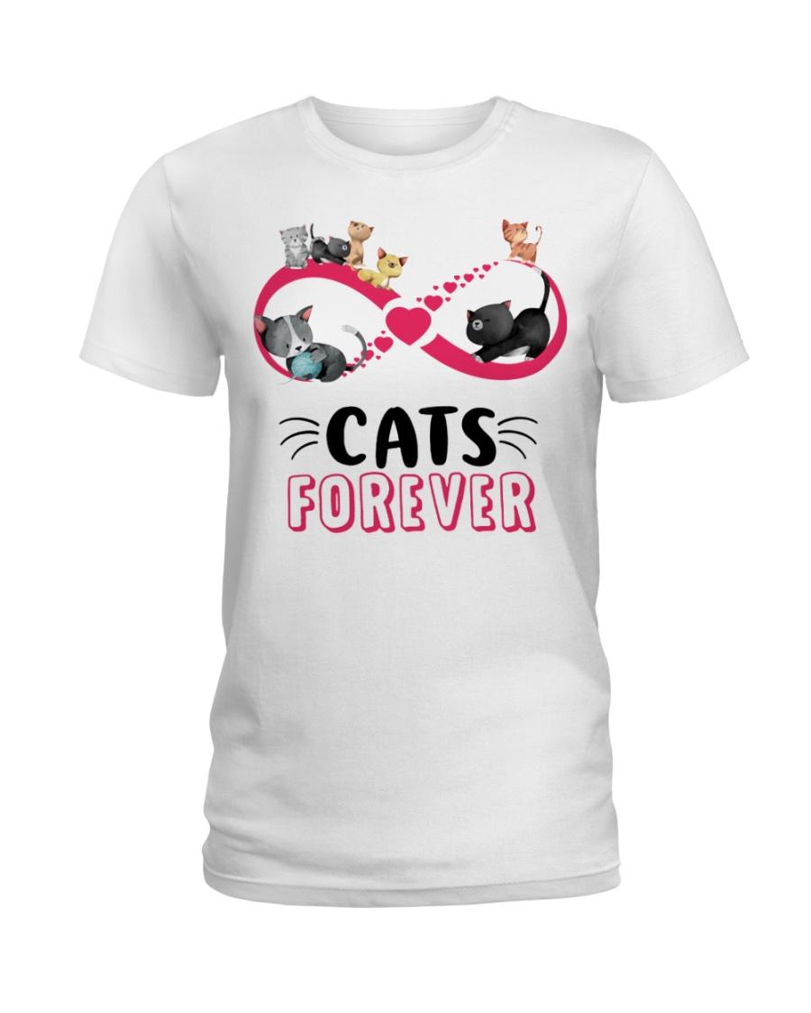 Love cat forever Ladies T-Shirt