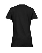 I'm a simple woman love wine flip dog and raise a  Ladies T-Shirt women-premium-crewneck-shirt-back