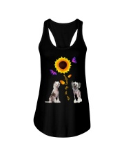 Chinese crested dog you are my sunshine  Ladies Flowy Tank thumbnail
