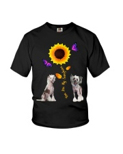 Chinese crested dog you are my sunshine  Youth T-Shirt thumbnail