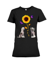 Chinese crested dog you are my sunshine  Premium Fit Ladies Tee thumbnail