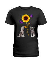 Chinese crested dog you are my sunshine  Ladies T-Shirt front