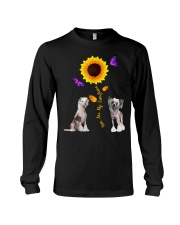 Chinese crested dog you are my sunshine  Long Sleeve Tee thumbnail