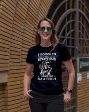 I googled my symptoms turns out I'm a bitch Ladies T-Shirt lifestyle-women-crewneck-front-2