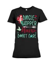 Dinglehopper hair dont care Premium Fit Ladies Tee thumbnail