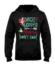 Dinglehopper hair dont care Hooded Sweatshirt thumbnail
