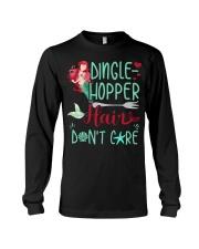 Dinglehopper hair dont care Long Sleeve Tee thumbnail