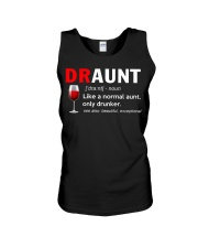 Draunt like a normal aunt only drunker  Unisex Tank thumbnail