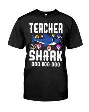 Teacher shark doo doo doo Classic T-Shirt front
