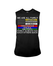 We are all family dispatch corrections emt firefig Sleeveless Tee thumbnail