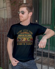 Every little thing is gonna be alright  Premium Fit Mens Tee lifestyle-mens-crewneck-front-2