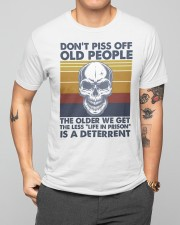 DON'T PISS OFF OLD PEOPLE Classic T-Shirt apparel-classic-tshirt-lifestyle-front-164