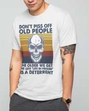 DON'T PISS OFF OLD PEOPLE Classic T-Shirt apparel-classic-tshirt-lifestyle-front-165