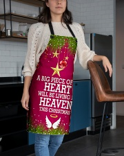 A BIG PIECE OF MY HEART WILL BE LIVING IN HEAVEN Apron aos-apron-27x30-lifestyle-front-02