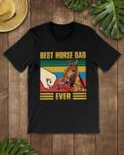 BEST HORSE DAD EVER Classic T-Shirt lifestyle-mens-crewneck-front-18