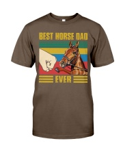 BEST HORSE DAD EVER Classic T-Shirt tile