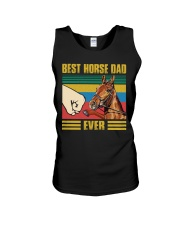 BEST HORSE DAD EVER Unisex Tank thumbnail