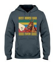 BEST HORSE DAD EVER Hooded Sweatshirt thumbnail