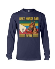 BEST HORSE DAD EVER Long Sleeve Tee thumbnail