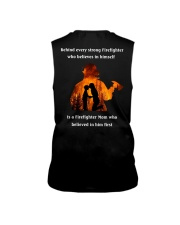 Behind Every Strong Firefighter Sleeveless Tee thumbnail