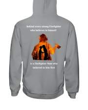 Behind Every Strong Firefighter Hooded Sweatshirt thumbnail
