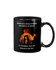 Behind Every Strong Firefighter Mug thumbnail