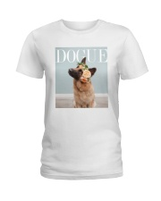 DOGUE - Now with German Shepherd style Ladies T-Shirt thumbnail