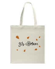 GIB CHIMKEN Tote Bag thumbnail