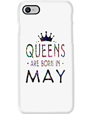 Queens Are Born in May Colorful Phone Case thumbnail