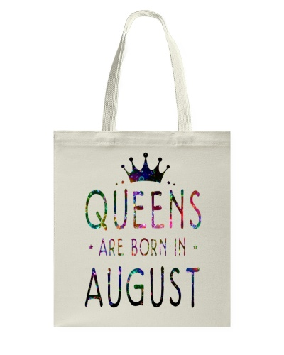 Queens Are Born in August Colorful