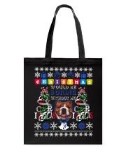 BULLDOG-CHRISTMAS Tote Bag thumbnail