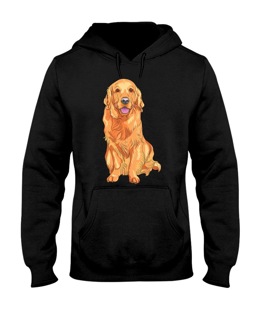 Golden Retriever Hooded Sweatshirt