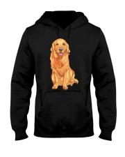 Golden Retriever Hooded Sweatshirt front