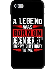 December 27th  Phone Case tile