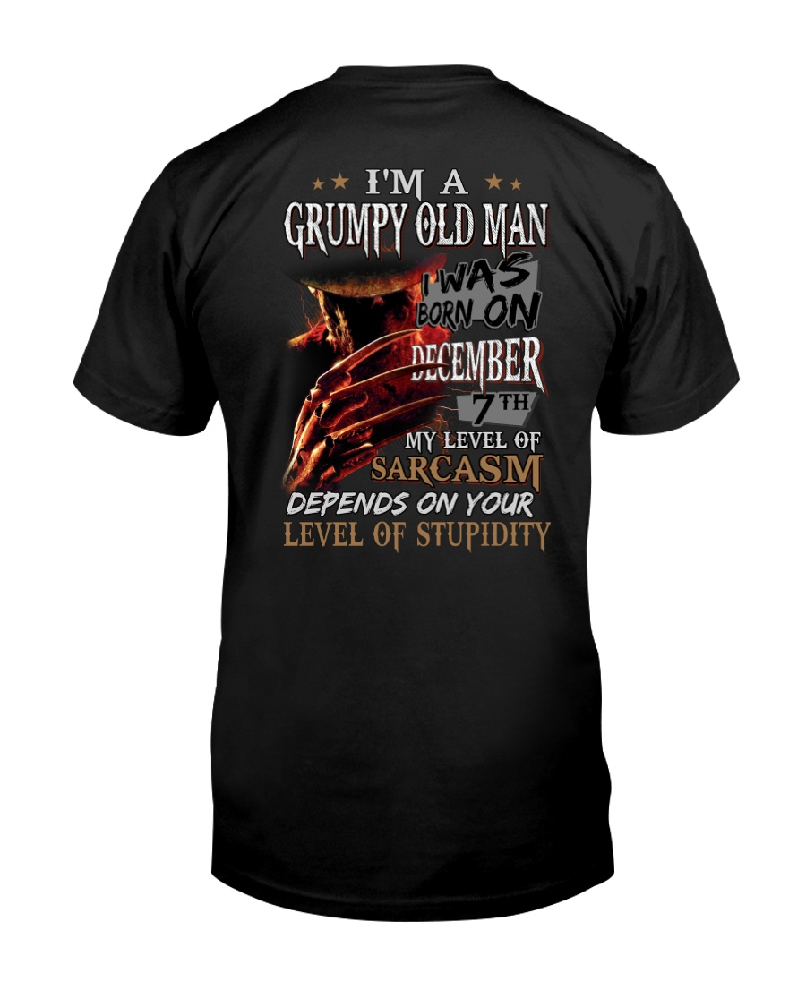 GRUMPY OLD MAN 7 Classic T-Shirt