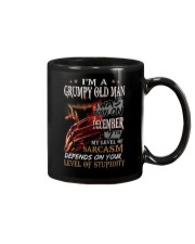GRUMPY OLD MAN 7 Mug tile