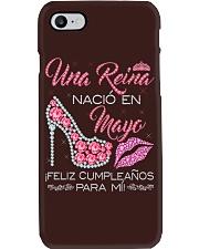 H-Camisetas Sublimadas Reina Nacida en Mayo Mujer Phone Case thumbnail