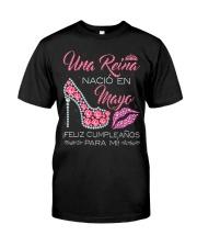 H-Camisetas Sublimadas Reina Nacida en Mayo Mujer Classic T-Shirt thumbnail