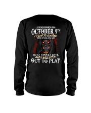 OCTOBER 9th Long Sleeve Tee thumbnail