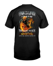 JANUARY MAN Z Classic T-Shirt back