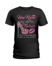 Fevrier Joyeux Anniversaire Tee Shirt Femme Ladies T-Shirt front