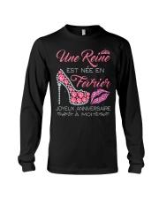 Fevrier Joyeux Anniversaire Tee Shirt Femme Long Sleeve Tee thumbnail