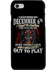 December 6th Phone Case thumbnail