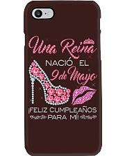 Camisetas Sublimadas Reina Nacida en Mayo Mujer Phone Case thumbnail